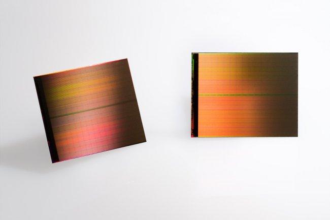 Intel compte proposer des barrettes Optane DDR4 pour équiper des serveurs Xeon Skylake. En illustration un coeur 3D Xpoint. (Crédit Intel).