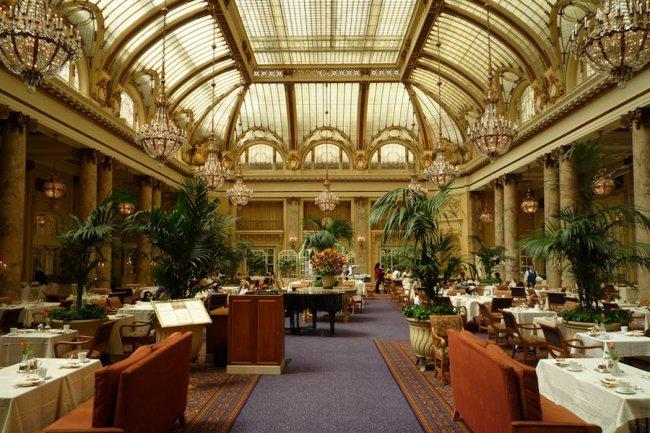 Le Palace Hotel à San Francisco fait partie des hôtels piratés depuis novembre 2014. (Crédit D.R.)