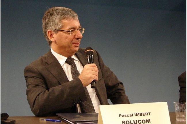 Pascal Imbert, président du directoire de Solucom, a co-fondé le cabinet de conseil en 1990. (source : Wikimedia)
