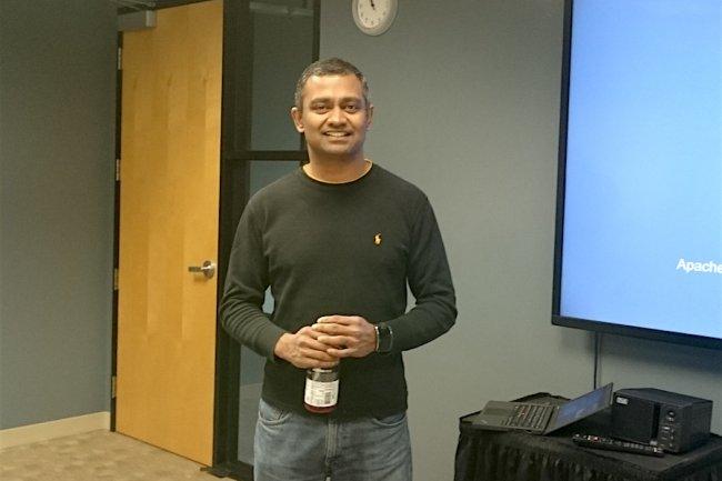 Anand Babu (AB) Periasamy, aujourd'hui CEO de Minio, est une figure bien connue dans la vallée, précédemment à l'origine de Gluster.