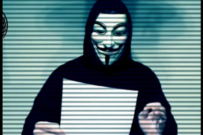 Les Anonymous m�nent une vaste campagne de cyberattaques contre de nombreux sites et serveurs DNS turcs. (cr�dit : D.R.)