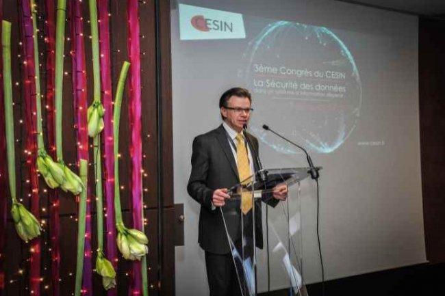 Alain Bouillé, président du Cesin, s'est inquiété de la sécurité des données dans un environnement informatique de plus en plus dispersé. (Crédit D.R.)