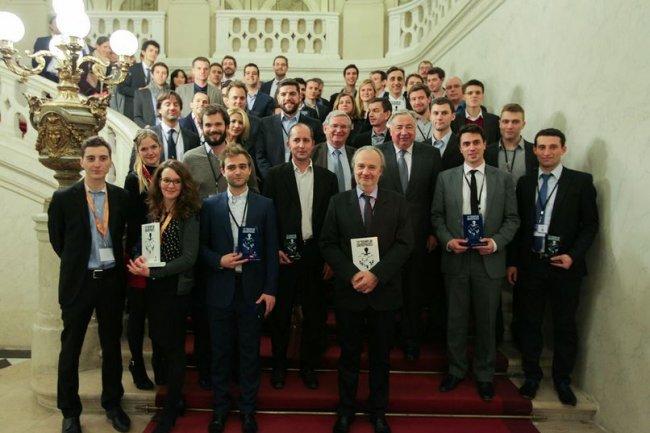 L'an dernier, le comité d'experts de Tremplin Entreprises a sélectionné 30 entreprises lauréates parmi 328 candidatures. Crédit: Sénat/C.Lerouge.