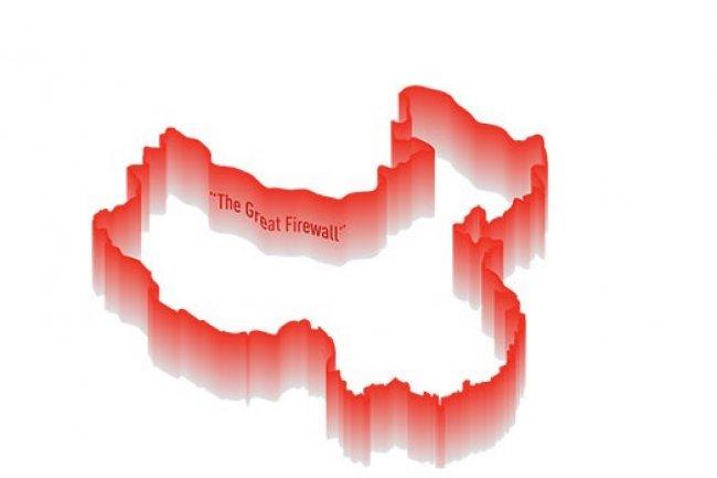 En Chine, le firewall d'Etat bloque ou ralentit un grand nombre de services web comme Gmail par exemple. (Crédit D.R.)