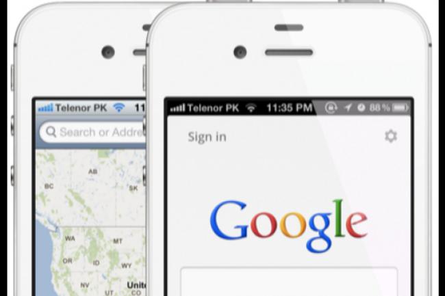 Le conflit juridique qui oppose depuis des années Google et Apple ne leur a apparemment pas fait oublier de faire tourner la pendule du business. (crédit : D.R.)