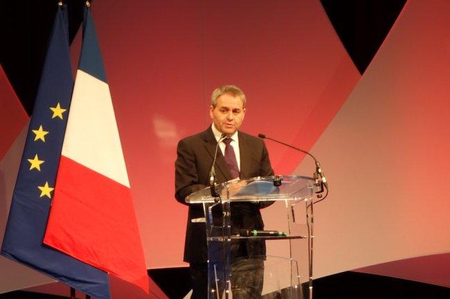 Récemment élu président de la région Nord, Xavier Bertrand fait de la cybersécurité une de ses priorités pour notamment développer des emplois. (crédit S.L.)