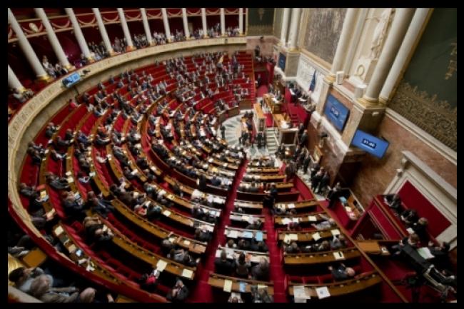 L'Assemblée Nationale a adopté à 356 voix pour, 1 contre et 187 abstentions, le projet de loi numérique portée par la secrétaire d'Etat chargée du Numérique Axelle Lemaire. (crédit : D.R.)