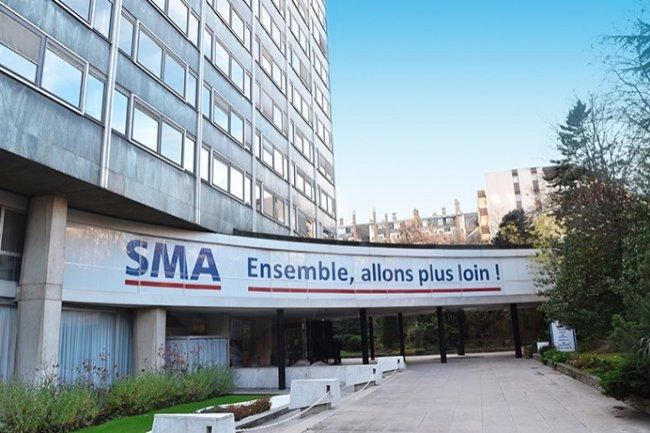 Le groupe d'assurances SMA regroupe plusieurs marques telles que SMABTP, SMAvie... (Crédit D.R.)