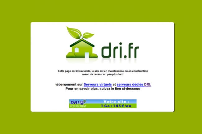 Le site web du Conseil r�gional des Pays de la Loire �tait toujours inaccessible en d�but d'apr�s-midi lundi 8 f�vrier. (cr�dit : D.R.)