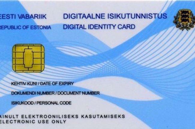 La carte d'identité numérique utilisée en Estonie, l'e-Residency,  peut être utilisé pour accéder aux services gouvernementaux en ligne et valider un ordre à la bourse de Talin..