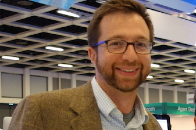 Todd Nightingale, vice-président et directeur général de Cisco Meraki, à Berlin.