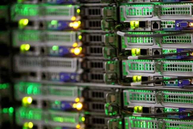L'architecture DSS 9000 mutualise dans un seul rack les ressources calcul, stockage et réseau. (Crédit D.R.)