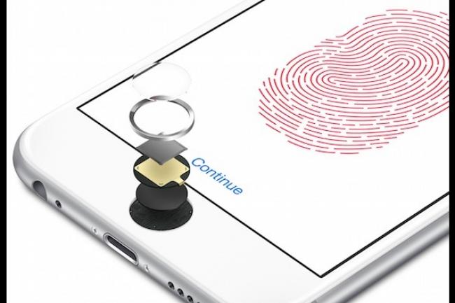 Apple a corrigé l'erreur 53 liée à son capteur d'identification par empreintes digitales TouchID. (crédit : D.R.)