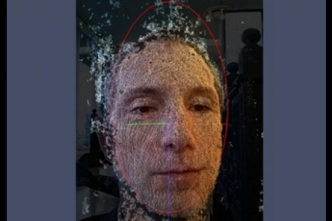 La start-up Onevisage a lancé il y a un an sa solution d'authentification faciale en 3D et via smartphone (Source: Onevisage)