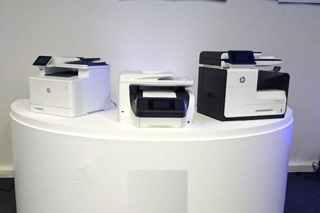Avec ses trois dernières gammes d'imprimantes, HP mise à la fois sur le laser et le jet d'encre. (crédit : LMI)
