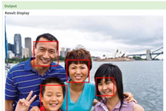 La d�tection des visages est incluse dans Haven OnDemand.