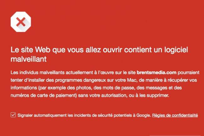Le site Brentsmedia.com diffuse des malwares vers des postes de travail et il ne s'agit pas d'un faux positif.