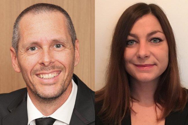 Jean-François Béraud  et Manon Reboul rejoignent respectivement Avisto et Elsys Design en PACA aux postes de responsables d'affaires.