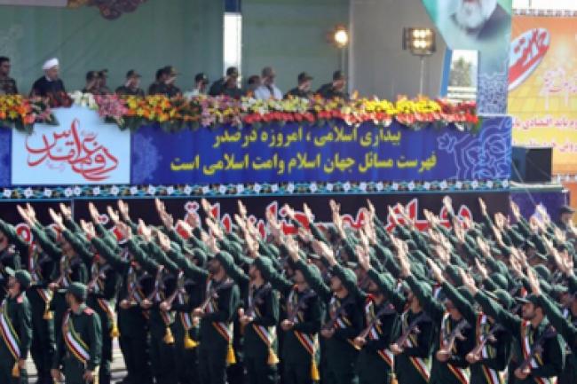 Les Gardiens de la Révolution constituent l'armée d'élite du régime de Téhéran. (crédit : D.R.)