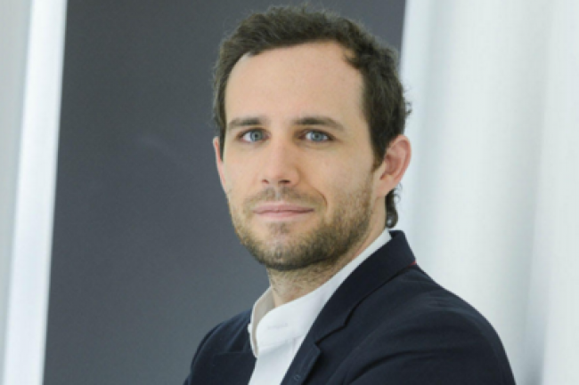 Pierre Houles, DSI de Canal+ et grand architecte du vaste projet de modernisation du SI et d'agilité mené par le groupe. (crédit : Xavier Lahache/Canal+)