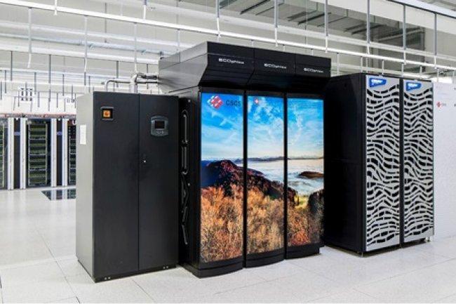 Le supercalculateur «Piz Kesch» se trouve au Centre suisse de calcul scientifique (CSCS) à Lugano. (Source: admin.ch)