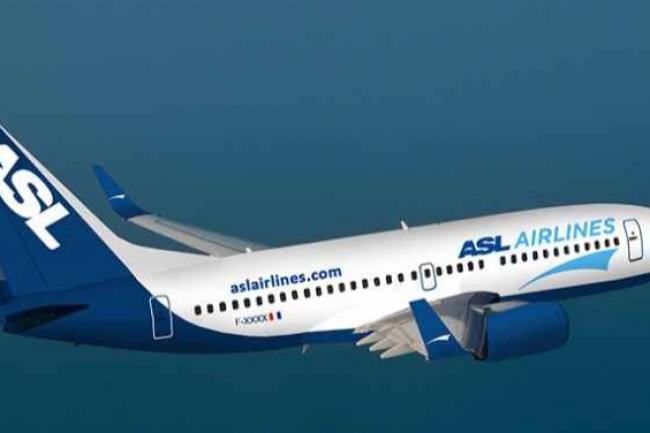 ASL Airlines dispose d'une flotte de 17 avions affrétés par diverses sociétés de transport de colis. (crédit : D.R.)