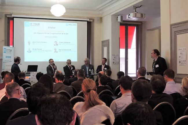 Près de 600 professionnels informatiques sont venus assister aux matinées-débats en régions organisées par la rédaction en 2015. (crédit : LMI)