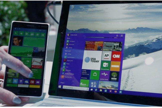 Microsoft pourrait intégrer dans Windows 10 des fonctions permettant à un utilisateur de s'authentifier sur son PC à partir de son smartphone. (crédit : D.R.)