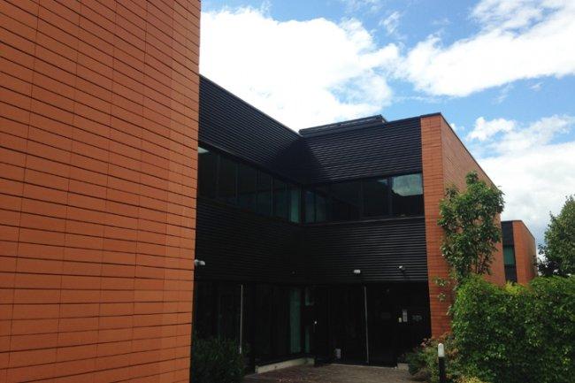 Inauguré le 26 novembre 2015, le siège de Divalto à Entzheim (67) accueille désormais plus de 200 salariés. (Crédit photo : D.R.)