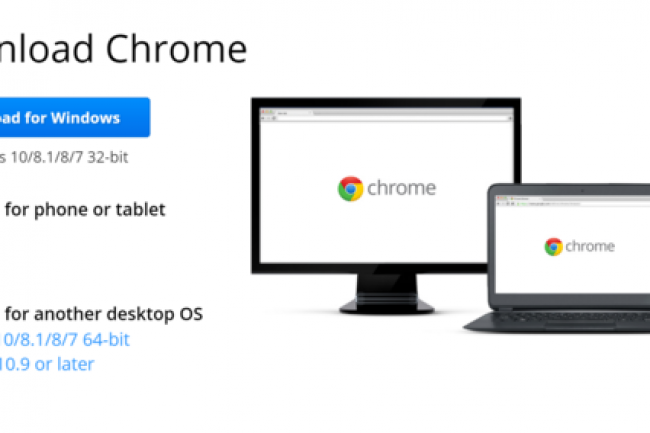Chrome 50 est seulement disponible pour Windows 7, 8.1 et 10 et les versions 10.9 et plus de Mac OSX. (crédit : D.R.)