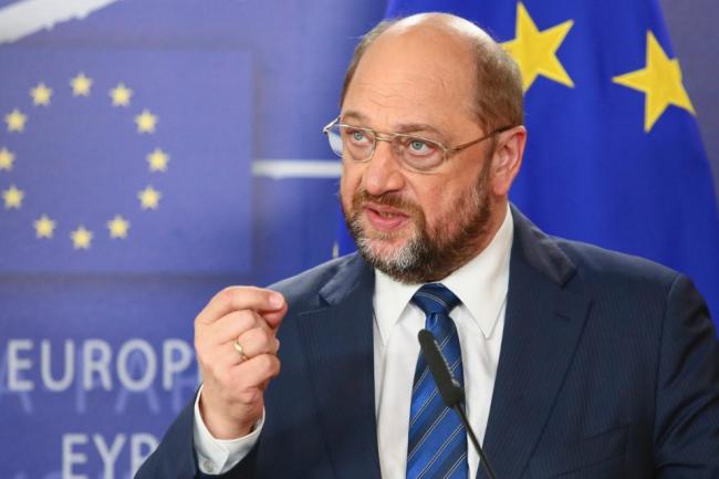 Pour Martin Schulz, président du parlement européen, l'accord de partage des données passagers est « un outil important dans la lutte contre le terrorisme ». (crédit : D.R.)