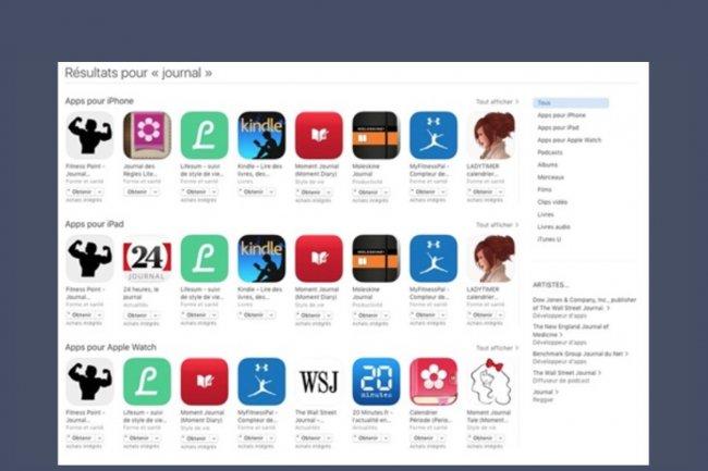 Apple envisagerait un modèle payant sur son app store