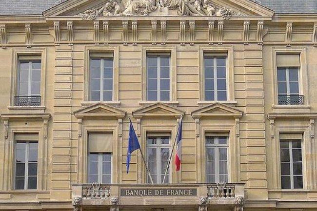 Emboîtant le pas à d'autres acteurs financiers, la Banque de France fait à son tour une étude d'opportunités sur la technologie blockchain. (crédit : Wikipedia/Mbzt)
