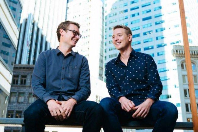 Deux des co-fondateurs de Mesosphere, Tobi Knaup, actuel CTO et Florian Leibert, CEO. (crédit : Mesosphere)
