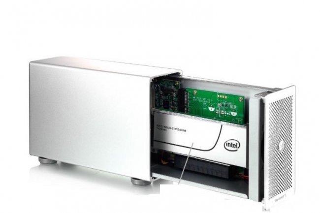 Avec son Thunder3, Akitio cible le marché des entreprises à la recherche de boitiers de stockage externes très performants.