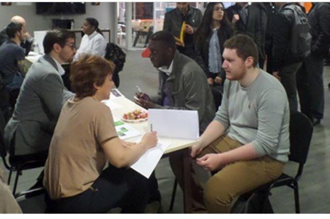 Le 4 mai prochain,  les étudiants du campus d'Ynov Lyon pourront décrocher un stage ou un contrat en alternance lors d'un job dating. Crédit: Ynov Lyon.