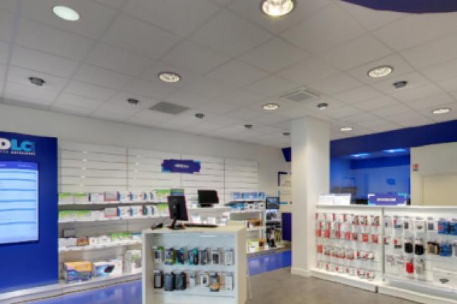LDLC disposait de 14 boutiques à l'issue de son dernier exercice. Le revendeur devrait en avoir ouvertes 5 à 6 supplémentaires d'ici le mois d'août. Crédit photo : D.R.