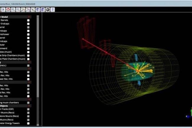 300 téraoctets de données du CERN sont désormais à portée de clic. (Crédit Cern)