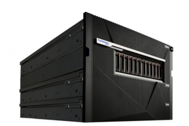 La dernière appliance 100% flash d'IBM, A9000. (crédit : D.R.)
