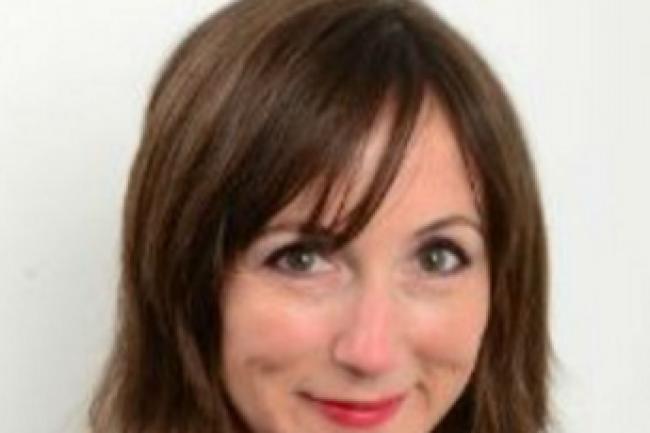 Emmanuelle Servaye, directrice marketing Europe de l'Ouest de Sungard AS, à l'initiative de Mentorat DSI. (crédit : D.R.)