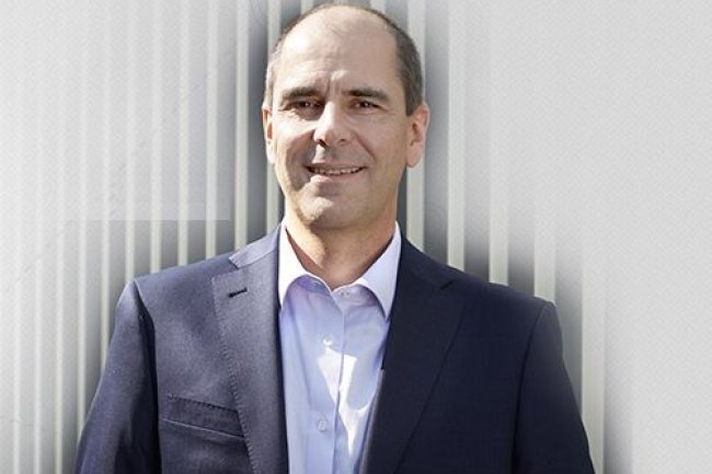 William Gouesbet, co-fondateur avec Yannick Delibie de la société Kerlink, basée à Thorigné-Fouillard, près de Rennes. (crédit : D.R.)
