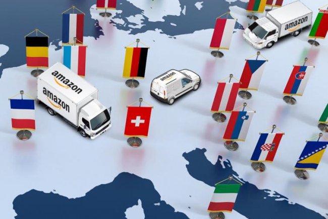 Dans l'UE, plus de 50 % des vendeurs affili�s � Amazon utilisent d�j� les services du g�ant. (Cr�dit D.R.)