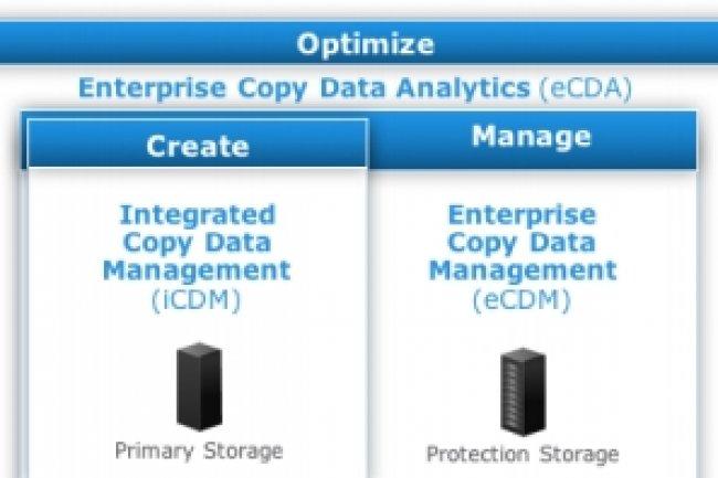 Avec Enterpsie copy data management, EMC part en guerre contre la copie de données. (crédit : D.R.)