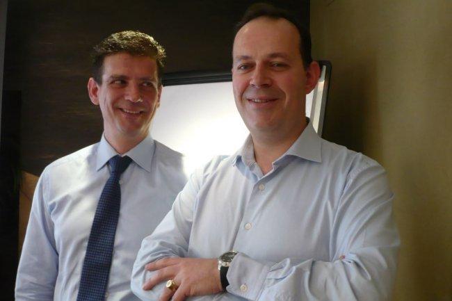 S�bastien Ropartz, associ� responsable de Deloitte Digital  (� droite), et Henri Pidault, Chief Technology Officer de Deloitte France, portent un regard hexagonal sur les Tech Trends 2016. (cr�dit : LMI)