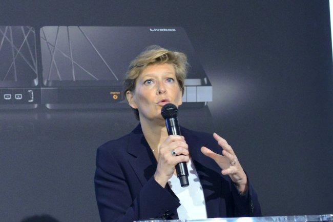 Fabienne Dulac, directrice exécutive d'Orange France reste très prudente pour le déploiement commercial de la 5G en 2025. (Crédit D.R.)