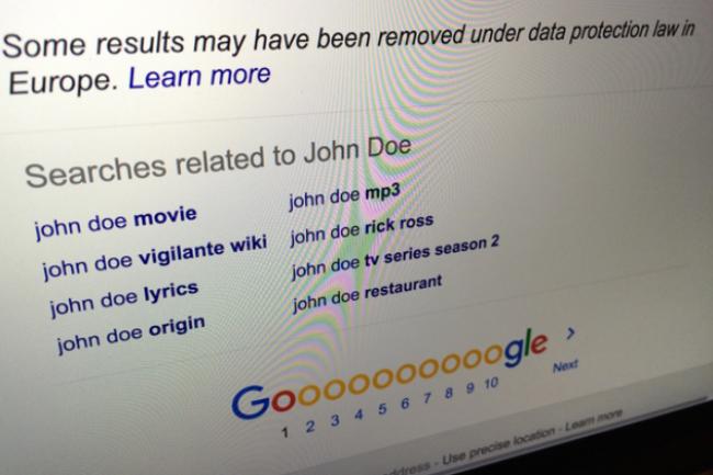 Les manquements de Google en matière d'application du droit à l'oubli permettant de déréférencer des contenus personnels avaient été sanctionnés par la Cnil en mars dernier. (crédit : D.R.)