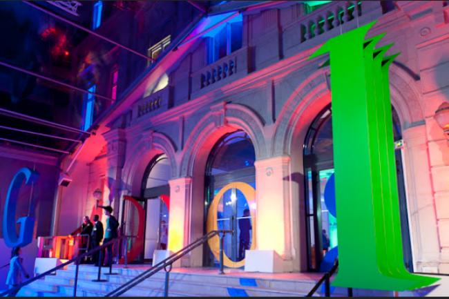 Google France a élu domicile pour son siège parisien dans le IX arrondissement à l'Hôtel de Vatry, siège historique de la Compagnie du Chemin de Paris. (crédit : D.R.)