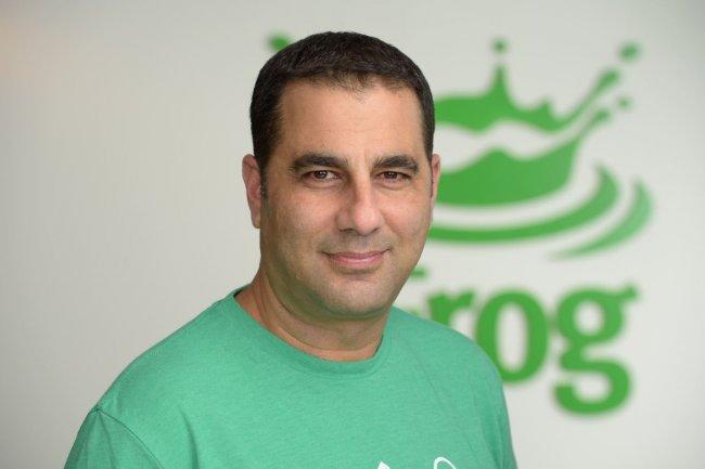 Shlomi Ben Haim, co-fondateur et CEO de l'éditeur israélien JFrog, est parvenu à lever plus de 60 M$ depuis la création de la société en 2008. (crédit : D.R.)