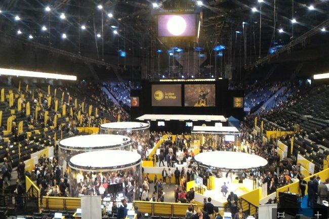 Plus de 15 000 personnes sont attendues à l'événement Innovation Génération 2016 organisé par Bpifrance à l'AccorHotels Arena à Paris les 25 et 26 mai. (crédit : LMI)