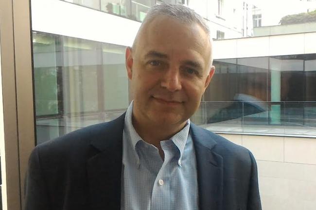 Stéphane Allaire est président d'Objenious, la filiale de Bouygues Télécom dédiée à l'Internet des objets. (crédit : Dominique Filippone)